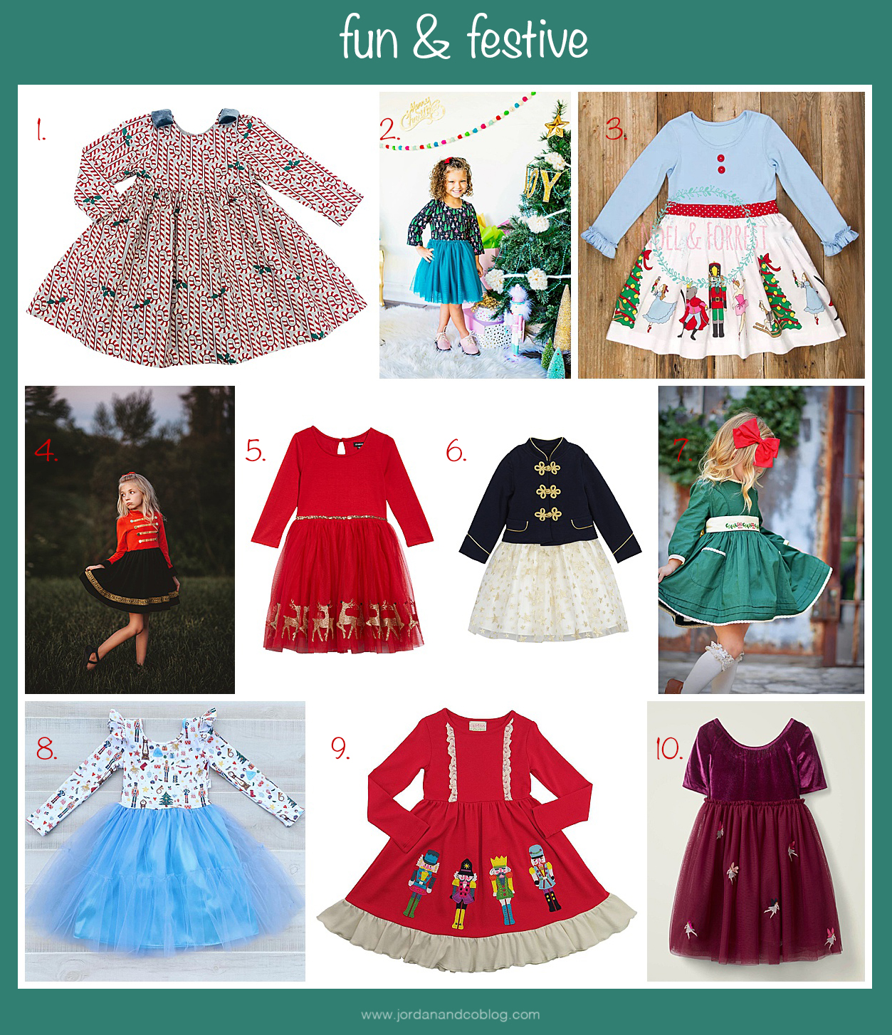 fun and festive holiday dresses